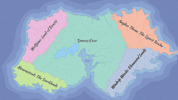 Classroom Fantasy Map