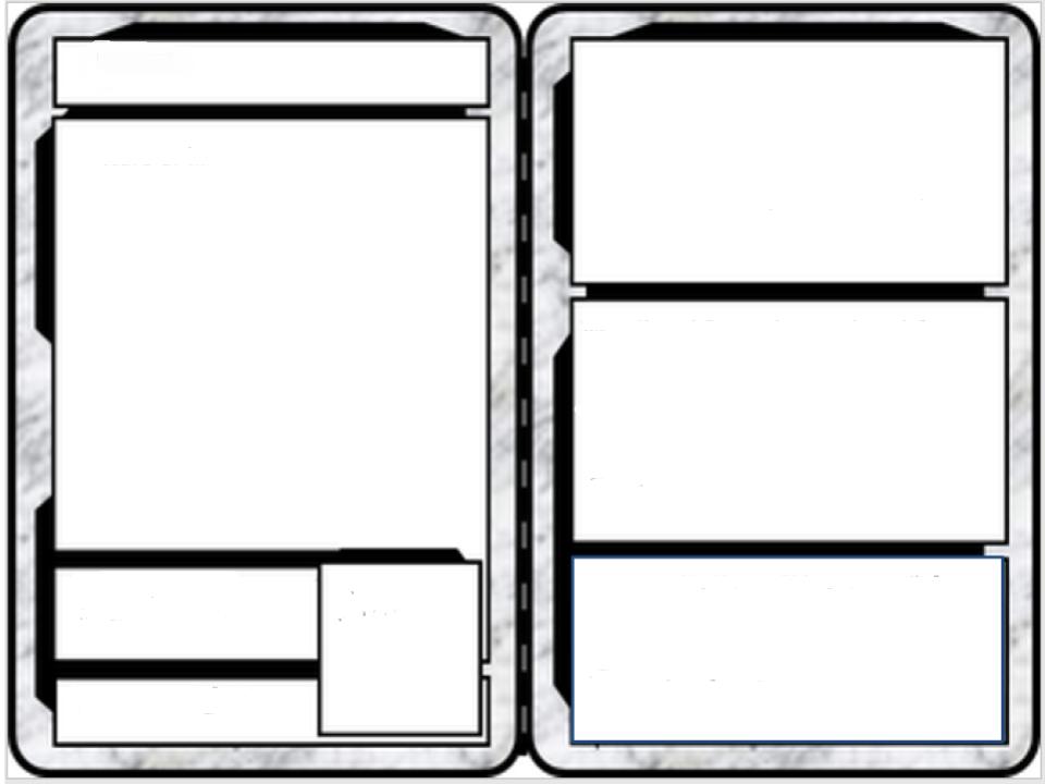 Avatar Trading Card Blank Classroom Powerups