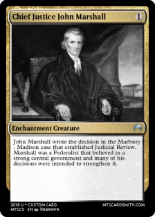 1 Chief Justice John Marshall