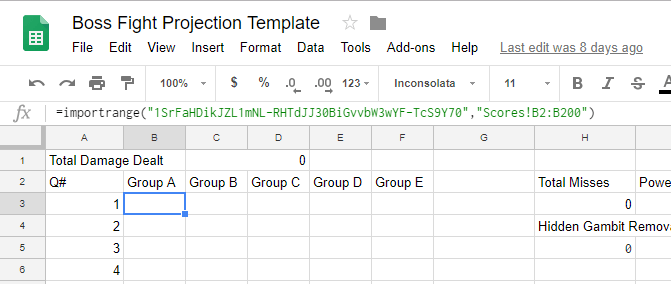 The Magic of VLOOKUP: G Sheets, Boss Fights, and Badges – Classroom