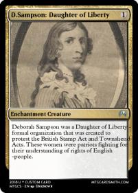 1 Deborah Sampson Daughter of Liberty
