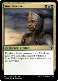 Stoic Defender